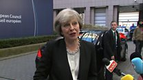 May asked about '10-year Brexit deal' at EU summit