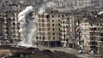 เมืองอเลปโปถูกระเบิดถล่มอย่างหนัก