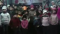 Orphans' plea to leave Aleppo