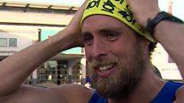 Marathon man 'gave too much'