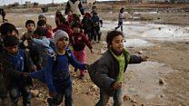 एलेप्पो: जंग में फंसे लोग