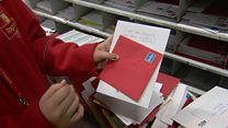 Royal Mail staff on 'missing postcode' woes
