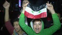 """مقامهای ایران """"پیروزی"""" در حلب را به مقامهای سوریه تبریک گفتند"""