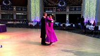 Ballroom novices take to the dance floor