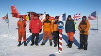 European team surveys hidden South Pole