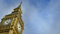The last toll of Big Ben