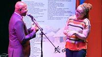 Africa's poetic 'energy exchange'