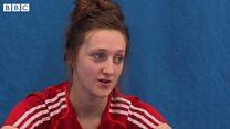 Taekwondo star Lauren Williams' wants to be next Jade Jones