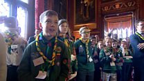Cub scouts take over at Westminster