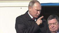 ТВ-новости: Вашингтон считает, что Путин причастен к хакерским атакам на США