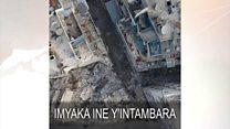 Imyaka ine y'ingwano i Aleppo muri Syria