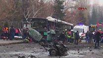 مقتل 13 جنديا وإصابة 48 آخرين في انفجار بوسط تركيا