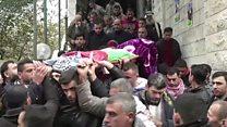 تشييع جثامين 7 فلسطينيين كانوا محتجزين لدى الجيش الإسرائيلي