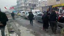 گیرافتادن صدها شورشی در شرق حلب
