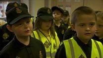 Mini police on patrol in Durham