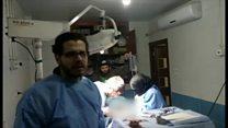アレッポでは看護師が帝王切開を執刀