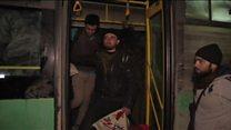 عملية الإجلاء من حلب تبدأ من جديد