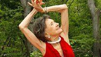 The 98-year-old yoga teacher
