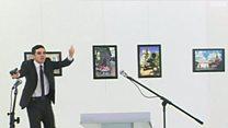 روس کے سفیر کے مبینہ قاتل کی ویڈیو
