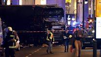 Berlin'de Noel pazarına tır saldırısı
