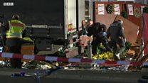 柏林一圣诞集市发生严重卡车冲撞事件
