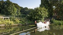 UK's oldest water chute ride listed