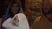 Whole village performs in nativity play