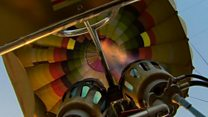 Полет на воздушном шаре над Тадж-Махалом