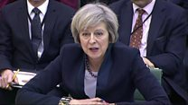 May dodges 'yes or no' Brexit question