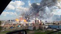 Meksika'da havai fişek pazarında patlama