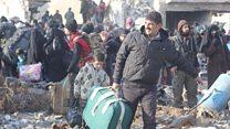 رحلة الهروب من حلب