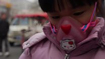 'Young and old' hit by China smog