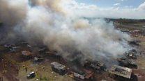 မက္ကဆီကိုက မီးရှုးမီးပန်းစျေးထဲ ပေါက်ကွဲ