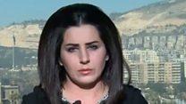 الدكتورة أشواق عباس استاذة العلوم السياسية في جامعة دمشق