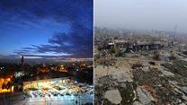 Alepo, antes y después de la guerra