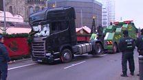اثر انگشت مظنون حمله برلین روی در کامیون