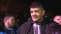 'Darth Vader lost for words' in Rhyl