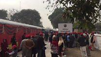 کرسمس پر امن ٹرین کا اقتتاح