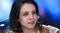 سميرة كركوش النائب في البرلمان الجزائري والمدافعة عن القانون الجديد