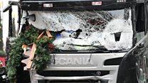Видеорегистратор зафиксировал момент нападения на рынок в Берлине