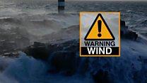 Storm Barbara brings gales