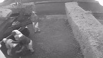 Carjackers attack man on his driveway