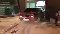 Авто протаранило термінал аеропорту Казані