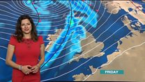 Storm Barbara weather warning for Wales
