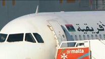 माल्टा में हाइजैक हुआ लिबीआई विमान