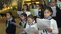 رغم الآلام كنائس حلب تحتفل بالميلاد