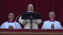 Pope sends message of peace to Syria