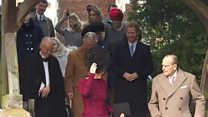 Royals attend church without Queen