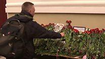 Катастрофа Ту-154: траур и поиск погибших