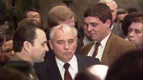 Последний день СССР: фуршет и пустой кабинет Горбачева